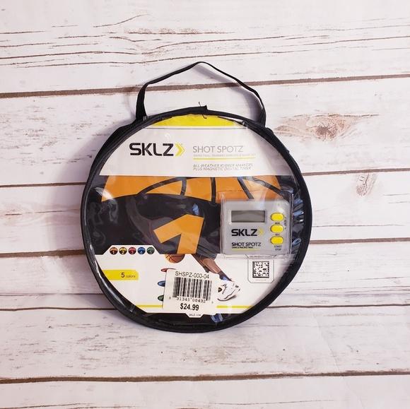 SKLZ Basketball Shot Spotz Training Markers and Game Set